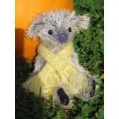 peluche ours d artiste kimiko piece unique signee ours fabrication ancienne