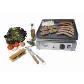 planche barbecue gaz 3 feux roller grilrpsg900