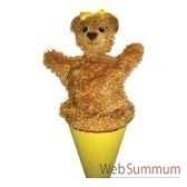 marionnette marotte anima scena ourse environ 53 cm 11411a