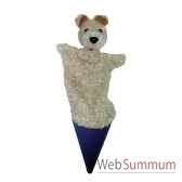 marionnette marotte anima scena le chien environ 53 cm 11407a