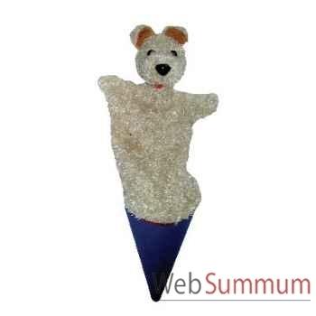 Marionnette marotte Anima Scéna - Le chien - environ 53 cm - 11407a