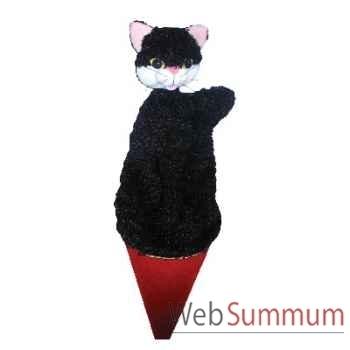 Marionnette marotte Anima Scéna - Le chat - environ 53 cm - 11408a