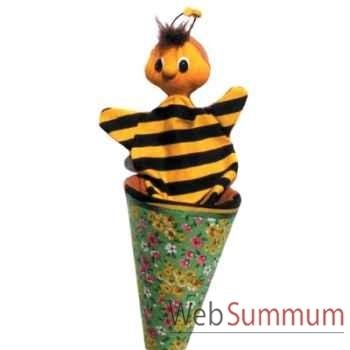 Marionnette marotte Anima Scéna - L\'abeille - environ 53 cm - 11281