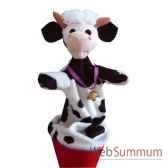 marionnette marotte anima scena la vache environ 53 cm 11482a