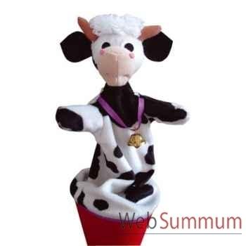 Marionnette marotte Anima Scéna - La vache - environ 53 cm - 11482a