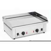 planche barbecue gaz double chromee roller grilrps600gc