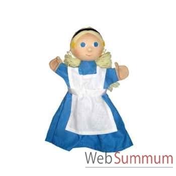 Marionnette à main Anima Scéna - Alice - environ 30 cm - 22656a