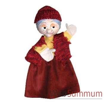 Marionnette à main Anima Scéna - Grand Mère - environ 30 cm - 22506b