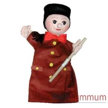 Marionnette à main Anima Scéna - Guignol - environ 30 cm - 22678b