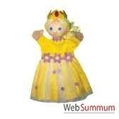 marionnette a main anima scena la princesse jaune environ 30 cm 22187c