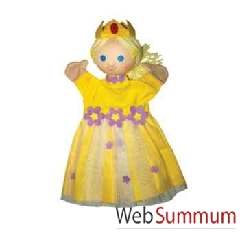 Marionnette à main Anima Scéna - La princesse Jaune - environ 30 cm - 22187c