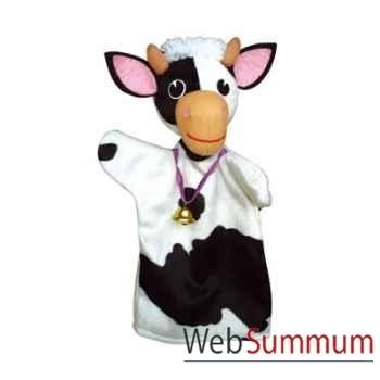 Marionnette à main Anima Scéna - La vache - environ 30 cm - 22482a