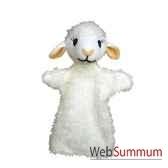 marionnette a main anima scena agneau environ 30 cm 22480a