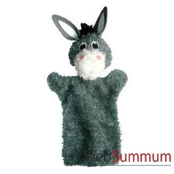 Marionnette à main Anima Scéna - L\'ane - environ 30 cm - 22396a