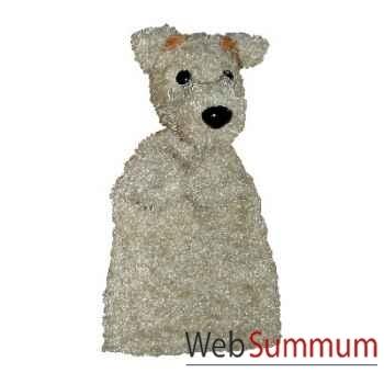 Marionnette à main Anima Scéna - Le chien - environ 30 cm - 22407a