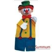 marionnette a main anima scena le clown environ 30 cm 22251a