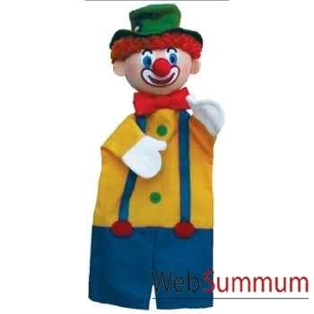 Marionnette à main Anima Scéna - Le clown - environ 30 cm - 22251a