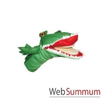 Marionnette à main Anima Scéna - Le crocodile - CLAP - environ 30 cm - 23423a