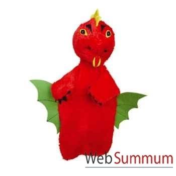 Marionnette à main Anima Scéna - Le dragon - environ 30 cm - 22484a