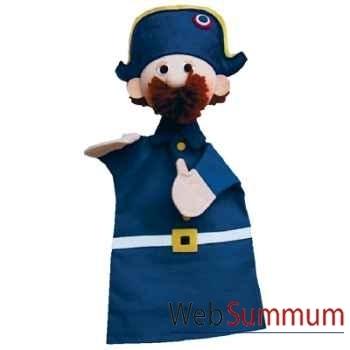 Marionnette à main Anima Scéna - Le gendarme - environ 30 cm - 22039a