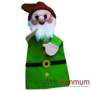 Marionnette à main Anima Scéna - Le nain Prof. - environ 30 cm - 22172