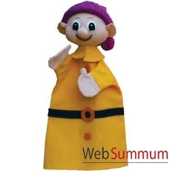 Marionnette à main Anima Scéna - Le nain Simplet - environ 30 cm - 22175a