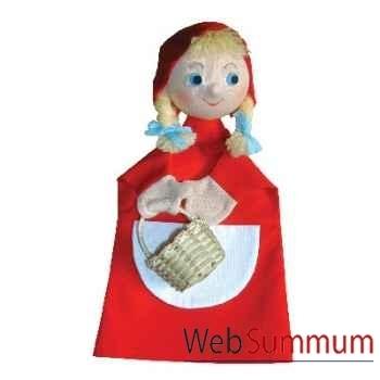 Marionnette à main Anima Scéna - Le petit Chaperon Rouge - environ 30 cm - 22869a