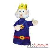marionnette a main anima scena le roi environ 30 cm 22185a