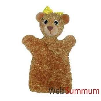 Marionnette à main Anima Scéna - L\'ourse - environ 30 cm - 22411a