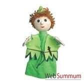 marionnette a main anima scena peter pan environ 30 cm 22654a