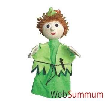 Marionnette à main Anima Scéna - Peter Pan - environ 30 cm - 22654a