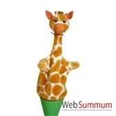 marionnette marotte anima scena la girafe environ 53 cm 11487a