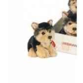 peluche chien teddy peluche westhighland terrier blanc 18cm hermann 92876