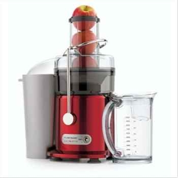 Riviera & bar centrifugeuse rouge métal 667048