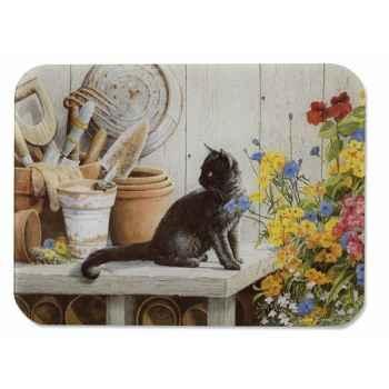 Tuftop planche à découper 51 x 41 cm - chaton noir 558106