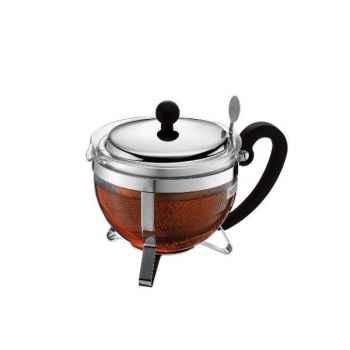 Bodum théière chambord filtre inox 1.5 l 495725