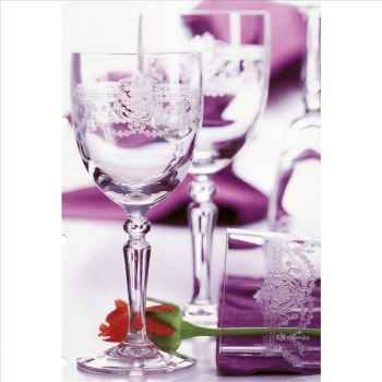 Cristal d'arques coffret de 6 flûtes dampierre 17 cl 957063