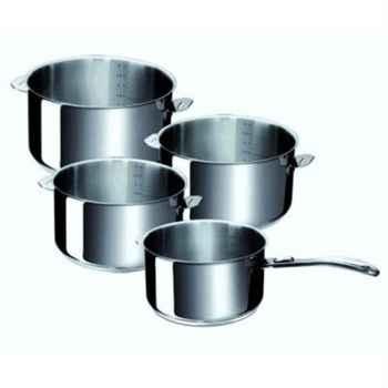 Beka line serie de 4 casseroles ligne evolution 14/20 cm 385720