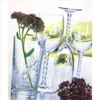Cristal d'arques verre à pied 20cl boîte de 6 - fleury epis 950943