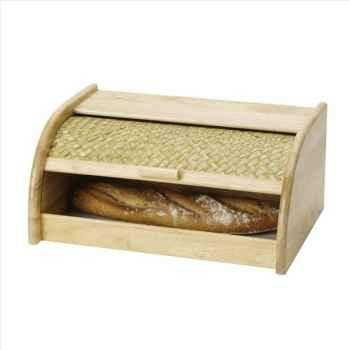 Boîte à pain bois 121410