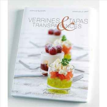 """Saep livre de recettes """"verrines, tapas & transparences"""" 102329"""
