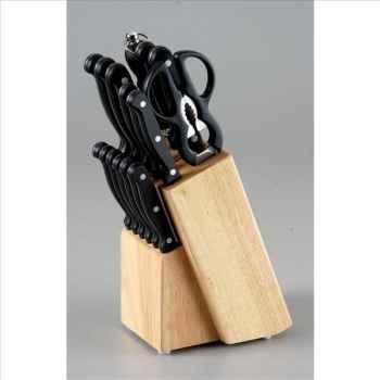 Amefa bloc 15 couteaux inox stratus 200012