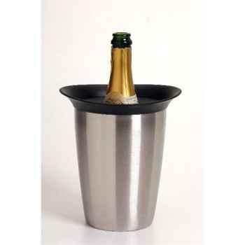 Vacuvin seau rafraîchisseur à champagne - rapid ice elegant champagne cooler 318889