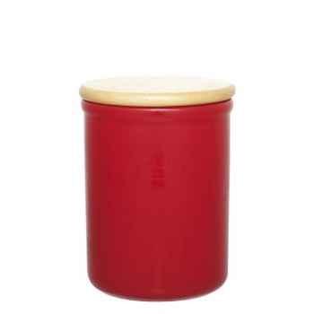 Emile henry pot à épices avec couvercle diam 15cm - cerise 905011