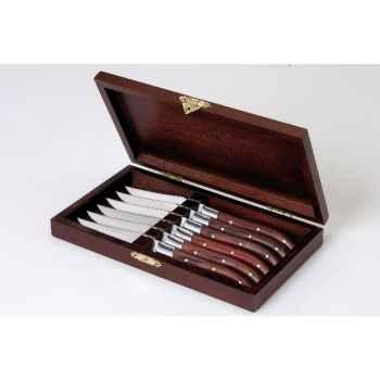 Amefa coffret de 6 couteaux royal steack 201510