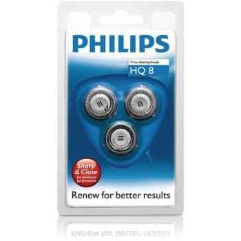 Philips lot de 3 têtes de rasoir - sensotec 661775