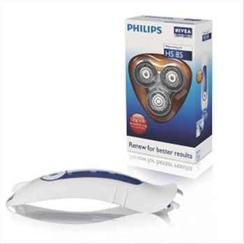 Philips lot de 3 têtes de rasoir philips nivéa + support 661805