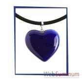 bijouxenverre pendentif coeur petit modele taille 25x2 cm cco38jpg