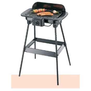 Severin barbecue sur pied avec pare vent 621133