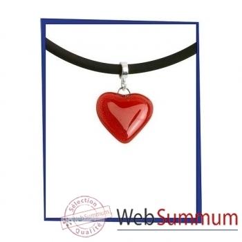 Bijouxenverre- Pendentif coeur petit modèle taille 2,5X2 cm-cco33pm.jpg